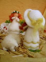 Early Summer (Shavuhot) (irit dulman) Tags: wool felted felting handmade felt needlefelting