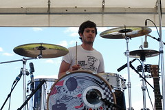 Adam Brody of Big Japan: Sasquatch festival , the gorge , WA-2005 (spacehindu) Tags: music adam festival rock japan seth washington big concert indie anil gorge cohen oc brody sasquatch adambrody sharma bigjapan anilsharma