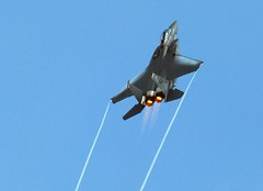 F-15E Strike Eagle goes Vertical @ Joint Service Open House 2006 (Nikographer [Jon]) Tags: topv111 vertical airplane lenstagged wings md topv555 topv333 nikon andrews force air jet maryland 2006 airshow flame condensation d200 airforce nikkor base usairforce afterburner jsoh andrewsairforcebase 80400mmf4556dvr f15estrikeeagle nikond200 nikographer lovephotography jointserviceopenhouse jointserviceopenhouse2006 nikographerjon jss20081