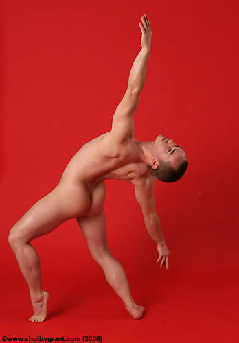 nude male ballet dancer