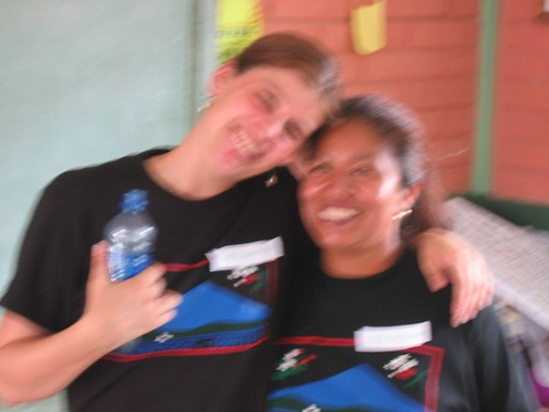 Kari and Dorita (out of focus)