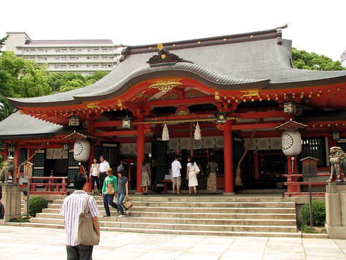 Ikuta Shrine main building