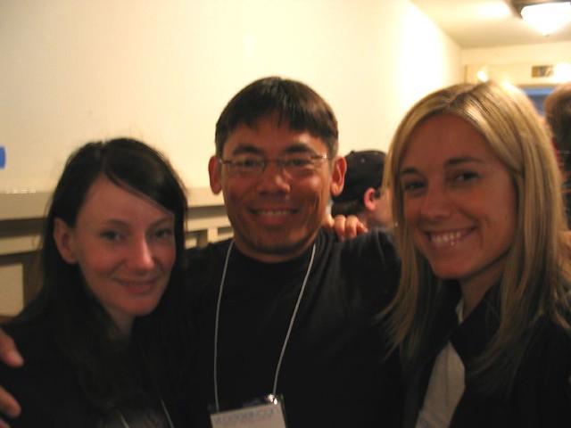 Casey McKinnon, Ted Tagami, & Amber Mac