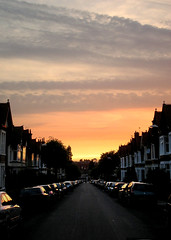 Spencer Avenue, Coventry (davespilbrow) Tags: sunset sky sun coventry earlsdon cv5 spenceravenue