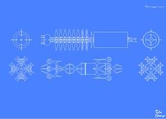 deep space 9 schematics, robotech schematics, andromeda ships schematics, stargate schematics, star trek space station schematics, on babylon 5 schematic