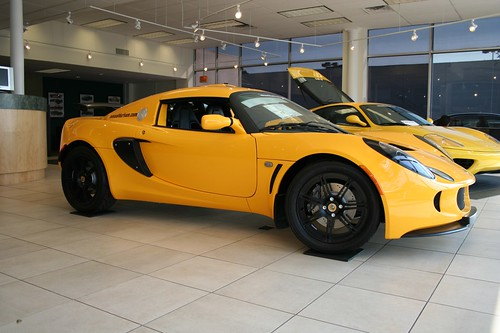 Exige. Lotus. Vectors. Yellow.