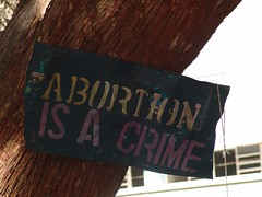 Abortion is a crime