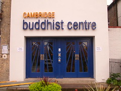 Cambridge Buddhist Centre entrance 4