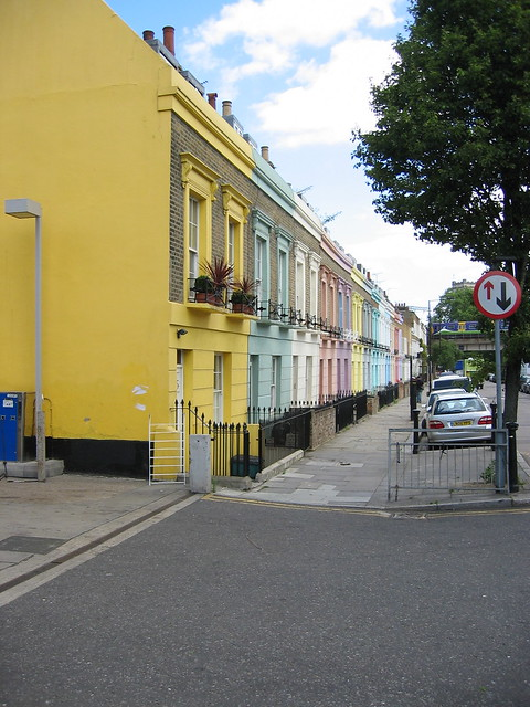 camden town pastel houses