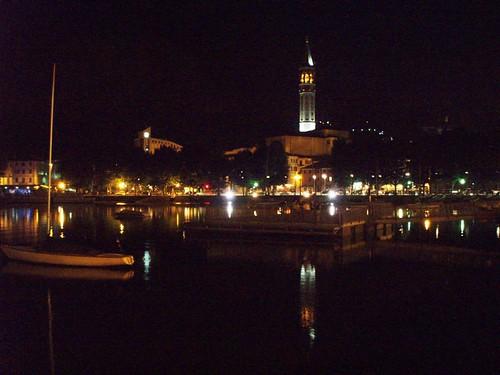 Lecco di notte; Lecco by night