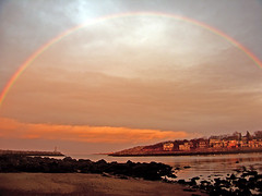 Rainbow in Rockport, MA (Chris Seufert) Tags: new england storm rainbow massachusetts rockport utatafeature