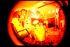 sound logic recording studio (johnnyalive) Tags: red music yellow rock analog 35mm studio lomo lca xpro crossprocessed surf lafayette band blues indiana soul indie production xprocessed recording recordingstudio recordingsession soundlogic culturecast thehalfrats soundlogicrecordingstudio