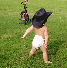 saddle up my horse (laurel_lee) Tags: baby cute tag3 taggedout interestingness toddler cowboy tag2 tag1 tennessee diaper explore cowboyhat toodamncute views500 views700 views600 views400 abigfave