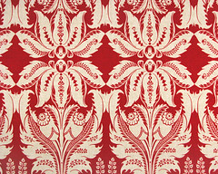 red-natural palm (hambox) Tags: wallpaper pattern textile becky hambox themered hamblogpic