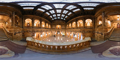 Marble Lobby - Panorama (Sam Rohn - 360 Photography) Tags: nyc newyorkcity panorama newyork photography photo interesting nikon manhattan location panoramic filmmaking stitched filmproduction 360x180 qtvr scouting 360 360x180 panography filmlocation locationscouting locationscout equirectangular filmlocations rohn filmscouting nylocations samrohn realvizstitcher locationscouts filmscout virtiualtour