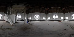 Clocktower Interior, 360 Panorama (Sam Rohn - 360 Photography) Tags: nyc newyorkcity panorama newyork clock window architecture brooklyn geotagged photography photo interesting nikon industrial time empty dumbo location panoramic clocktower vacant filmmaking stitched filmproduction clocks 360x180 qtvr scouting 360 360x180 panography filmlocation locationscouting locationscout equirectangular 105mmf28gfisheye filmlocations rohn filmscouting nylocations samrohn realvizstitcher locationscouts geo:lat=40703546 geo:lon=73990388 filmscout virtiualtour