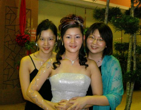 Sister's wedding - sisters!
