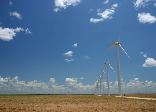 Texas wind farms