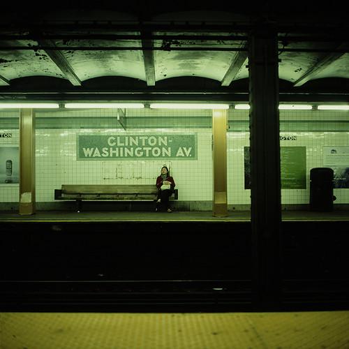 obligatory NYC subway shot