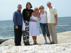 The Family (monkeys with tails) Tags: chris anna andy 2006 halifax peggyscove milena