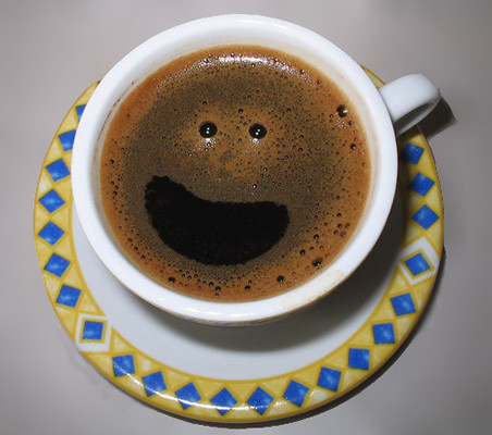 Smiling coffee by mikelens.