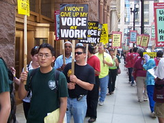 Rally at Chicago NLRB - 4