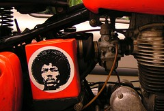 afro style (gari.baldi) Tags: portrait orange berlin bike metal germany design label afro 2006 explore motorbike tlpoedeleted motor garibaldi jimihendrix pankow paperwall flickrexplore thedailypicture expd