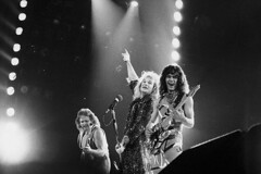 Van Halen at the US Festival 1983 (Taylor Player) Tags: california people blackandwhite bw music usa playing man men musicians america portraits photography us blackwhite singing unitedstates performingarts festivals guitars stages few celebrations rockmusic sing instrument northamerica americans famouspeople males northamericans onstage personalities prominentpersons singers vocalist whites concerts eddievanhalen van adults halen guitarists bassists rockandroll performances guitarplayer vanhalen musicalinstruments bassplayer blackandwhitephotography caucasian michaelanthony davidleeroth stringedinstruments sanbernardinocounty specialoccasion monochromephotography musicalperformances bassguitarists musicalinstrumentplaying devore smallgroupofpeople bassguitars electricguitars glenhelenpark usfestivalii