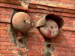 Old Poznanski Factory - bells (d, Polska) (SQ7HJI) Tags: old factory poland polska lodz d manufaktura sq7hji