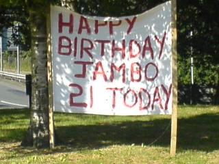 Happy Birthday Jambo