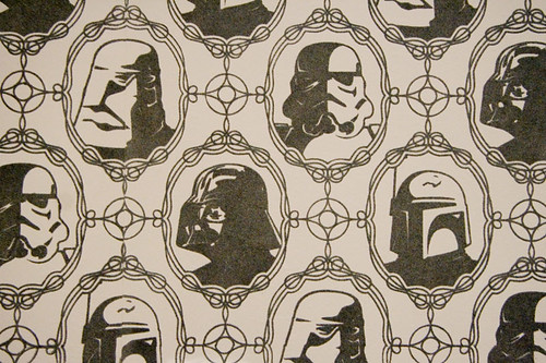 Star Wars Flock Wallpaper Designer Wallcoverings Blog