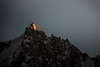 "Sunset on Aiguille du Midi (Isat"") Tags: montagne mountain moutains montblanc aiguilledumidi nature neige coucherdesoleil"