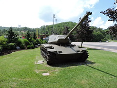 M-41 TANK (SneakinDeacon) Tags: army military bulldog tank m41 walker infantry bluefield citypark