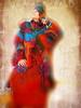 A cricket disturbed the blissful dream of a sleeping child... (MizzieMorawez) Tags: classicalfreeform crochet knitting colorful coathatset coat indoor outdoor designerknitwear wearableart unorthodox eyecatcher headturner