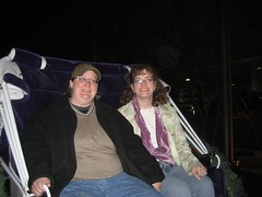 Me and Stephanie in the carriage