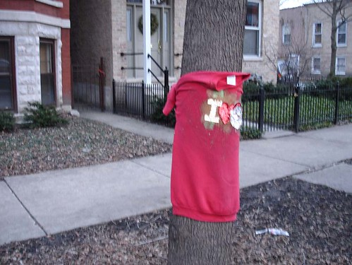 sweater street art?