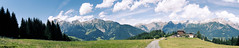 mountain Panorama (Essa Al-Sheikh - @Bo3awas) Tags: summer sky panorama mountain austria zellamsee salfelden