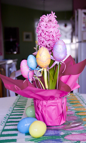 Hyacinth and Easter Eggs 1