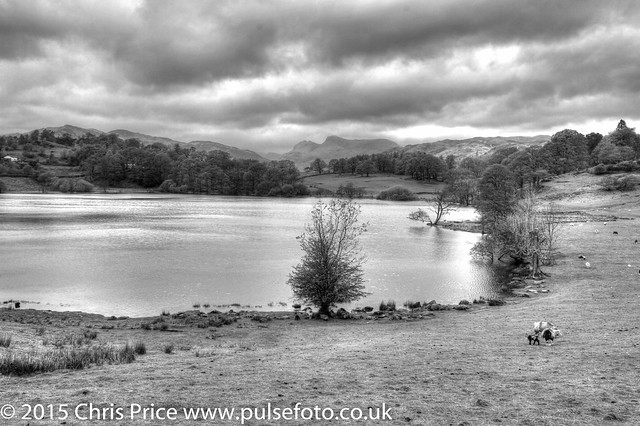 Loughrigg Tarn and nearby