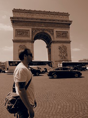 Arc de Triomphe, Paris!