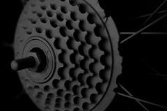 shift (Jenlynnifer94) Tags: blackandwhite bw abstract bike bicycle nikon shift gears