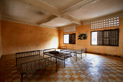 Tuol Sleng Genocide Museum (phalinn) Tags: travel school people history monument museum canon rouge photography high asia cambodia khmer outdoor stupa wide landmarks sigma kingdom indoor pot prison torture 7d tribute southeast chao 1020mm genocide asean eso phnom yat penh pol s21 sleng kemboja tuol duch kampuchea sary sihanouk sihamoni samphan khieu ieng ponhea
