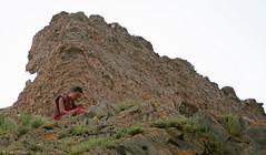 Tibetan Monk (oeyvind) Tags: china tibet amdo kham     yushu qinghai chn   jyekundo gyegu