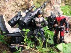 Field Testing (jeffmace1976) Tags: iron cobra joe scrap gi hasbro customs destro jungleterror