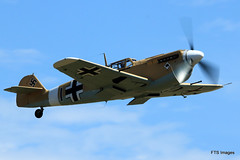 IMG_7778 (harrison-green) Tags: show sea museum plane flying war fighter aircraft aviation air airshow legends duxford imperial spitfire mustang fury iwm me109 2015