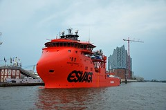 esvagt-faraday (stadtfahrt-hamburg) Tags: offshore hamburg vessel elbe windpark versorger