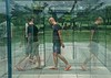 The Glass Labyrinth (ricko) Tags: people glass reflections kansascity missouri maze cheers nelsonatkinsartmuseum robertmorris cheers2 glasslabyrinth cheers3 cheers4 cheers5 cheers6 cheers7 cheeredonbythepigsty donaldjhallsculpturepark f64g70r1win