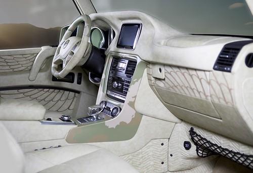 Mercedes-Benz G 63 AMG Sahara Edition от Mansory