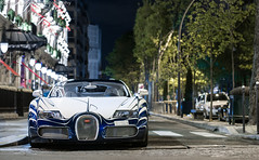 Bugatti Veyron Grand Sport L'Or Blanc (Romain Lapeyre Photography) Tags: car night french nikon bugatti luxury supercar w16 veyron sportcar grandsport orblanc lorblanc