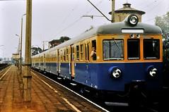 PL-MAZ Warszawa - EN57-1384 in ORWO 1980s (N-Blueion) Tags: